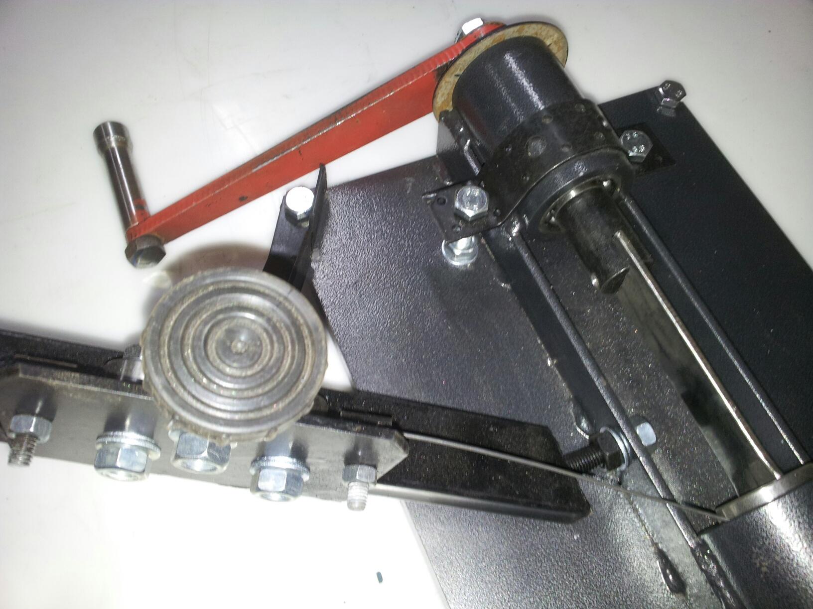 Изготовление станка для сетки рабицы своими руками